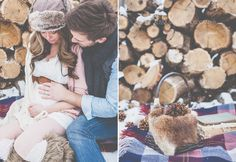 I am over the top excited to show you these images! Joey is my brother, Brit, my super gorgeous sis (in-law).... and that bump... my first nephew!! I can't wait till baby G is here! I loved shooting outside in the snow. It makes everything seem so fresh and dreamy! And thanks to Britni's sister we…
