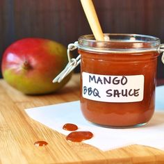 Spicy Mango Barbecue Sauce
