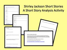 an analysis of the short story the lottery by shirley jackson Shirley jackson's short story the lottery this film version from 1969 part 1 of 2 part 2-.