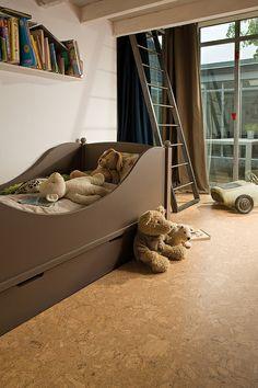 Cork Flooring In A Kid S Bedroom
