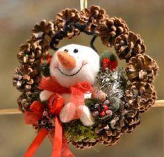 Inspiração: Guirlandas de Natal