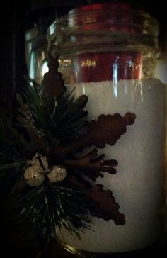 Snowflake Jar