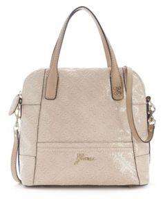 GUESS Handbag, Reiko Small Dome Satchel - Handbags & Accessories - Macy's