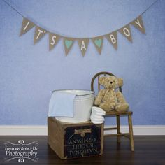 Baby shower banner- we could probably make one!