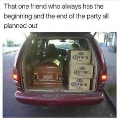 """Death and twisted humor (@bonkers4memes) on Instagram: """"I sure hope the casket is for the beginning of the night."""""""
