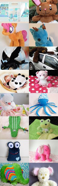 Cuddly and lovely creations by MileTa on Etsy--Pinned with TreasuryPin.com