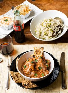 Chicken Tikka Masala - I'd love to try my hand at cooking Indian food, among other particular cuisines (like Thai food).