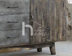 Buffet industriel en bois massif DAVIS Decoration, Design, Furniture, Home Decor, Solid Wood, Decor, Decoration Home, Room Decor, Dekoration