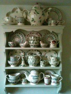 Emma Bridgewater Christmas Display - Gorgeous teapot at the top!