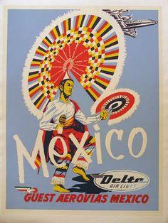 El Bable: El turismo en México durante la post-guerra. Los cuarentas.