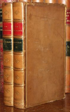 Notable among the later novels is The History of Henry Esmond, in which Thackeray tried to write a novel in the style of the eighteenth century. In fact, the eighteenth century held a great appeal for Thackeray. William Makepeace Thackeray, The Virginian, Antique Books, Bookshelves, Novels, Facts, History, Ebay, Beautiful