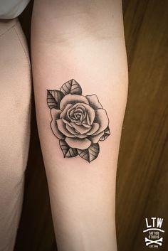 Rosa por Alexis