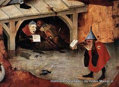 """""""Tentações de Santo Antão"""", de Hieronymus Bosch. Detalhe."""