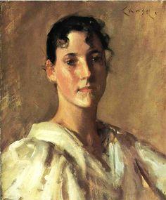 William Merritt Chase - Portrait of a Woman 1900