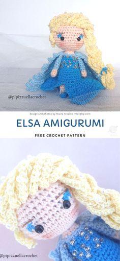 Disney Crochet Patterns, Crochet Patterns Amigurumi, Amigurumi Doll, Crochet Dolls, Doll Patterns, Crocheted Toys, Tinkerbell Doll, Beautiful Dolls, Beautiful Crochet