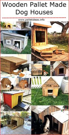 If anyone loves to create the products for the home utilizing the wooden pallet, then why not to make a wooden pallet dog house for the four-legged friend? The dog house made with the reclaimed pallets keeps the pet safe and a person can make it according to the size of the dog, which the pet will also likes. One can make the dog house with unique design and there is nothing which is needed to create it other than the pallets and the tools.