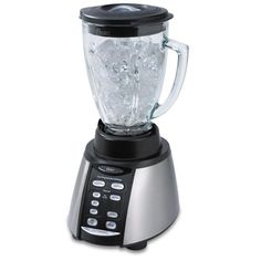 The multi-purpose Oster Counterforms Blender is a welcomed addition to any modern kitchen especially for those who are tired of having lots of appliances cluttering up their counter-tops or taking up precious space in kitchen cupboards. The system is real value for money and the good thing is it comes with various accessories.