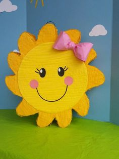 Sunshine Birthday Party Sun Pinata First Birthday Party You Sunshine Birthday Parties, First Birthday Parties, 2nd Birthday, First Birthdays, You Are My Sunshine, Party Supplies, Pikachu, Party Themes, Party Ideas