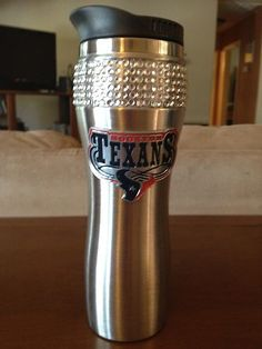 Houston Texans Stainless Steel Flask
