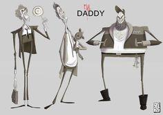 EVIL DADDY https://www.facebook.com/CharacterDesignReferences