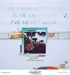 My favourite thing is to go where I've never been by confettiheart at @studio_calico