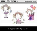 Digi Stamp Boutique Rosie Collection