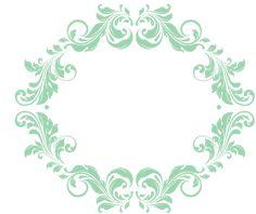 Frames para monogramas grátis para baixar