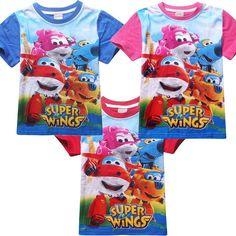 5 /& 6 Neuf Garçons Super ailes Survêtement Set Enfants Personnage SPORTWEAR taille 3 4