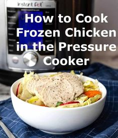 Bring a look into the refrigerator, and chances are, you're going to locate some frozen chicken. It's a protein staple in any omnivorous house… Frozen Chicken Wings, Frozen Chicken Recipes, Slow Cooker Recipes, Cooking Recipes, Healthy Recipes, Easy Recipes, Tasty, Yummy Food, Breast Recipe