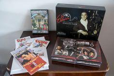 Veel 3 Elvis Presley publicaties  Elvis Presley's Graceland officiële gids 108 pagina 'sElvis Presley's Graceland officiële DVD 62 minutenELVIS de ultieme filmcollectie:-9 films Jailhouse Rock het gebeurde op het WK eerlijke Viva Las Vegas Harum Scarum Spinout Double Trouble Speedway The Trouble with Girls Elvis: That's the way Is.-Elvis: Zwart leer DVD hoogtepunten van ' 68 Comeback Special-Elvis film muziek optredens DVD-Elvis Music Rarities C-(2) 16 pagina boekjes met samenvattingen van…