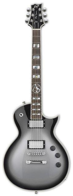 ESP Alex Skolnick Signature Electric Guitar   Silver Sunburst Finish