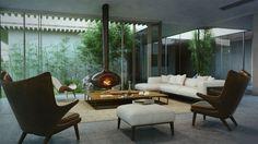 Casa Rural por Studio Aiko   HomeDSGN, una fuente diaria de inspiración y nuevas ideas sobre diseño de interiores y decoración del hogar.