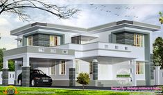 haus design Gallery of Kerala home design, floor plans, elevations, interiors designs and other house related products House Arch Design, House Outside Design, 2 Storey House Design, Duplex House Design, Kerala House Design, Small House Design, Modern Exterior House Designs, 4 Bedroom House Designs, Modern House Design