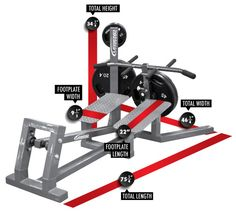 Legend Fitness 3260 Plate Loaded T-Bar Row Footprint Dimensions Diy Gym Equipment, No Equipment Workout, Fitness Equipment, Gym Workouts, At Home Workouts, T Bar Row, Personal Gym, Plate Storage, Gym Accessories
