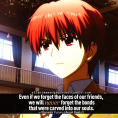 Angel beats - Otanashi... his story is so emotional!!