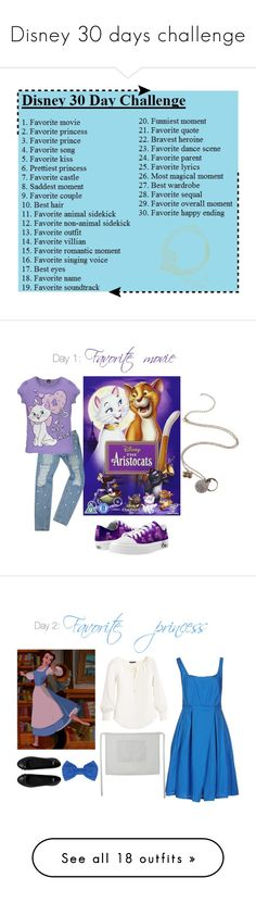 """Disney 30 days challenge"" by ladynightmare on Polyvore featuring Disney, women's clothing, women's fashion, women, female, woman, misses, juniors, Zipz and White House Black Market"