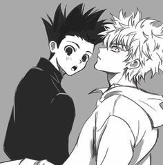 Gon Killua, Hisoka, Hunter Anime, Hunter X Hunter, Chibi, Cute Anime Pics, Kagehina, Cute Gay, Fanart