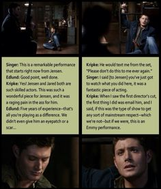 Supernatural. We all knew how amazing he was I'm glad that everyone else does too.