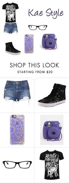 """""""Kae Style"""" by kaetheturtle on Polyvore featuring Topshop, Rebecca Minkoff, Casetify, Ray-Ban, women's clothing, women's fashion, women, female, woman and misses"""