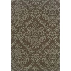 Outdoor/ Indoor Grey/ Blue Floral Area Rug | Overstock.com Shopping - Great Deals on Style Haven 7x9 - 10x14 Rugs