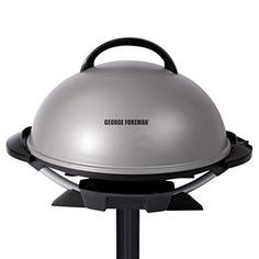 Just because the weather is nasty doesn't mean your barbecue is cancelled. The George Foreman Indoor/Outdoor Electric Grill can grill up your stea Best Indoor Electric Grill, Indoor Outdoor Grill, Outdoor Cooking, Electric Grills, Electric Bbq, Party Outdoor, Grill Stand, Lotion, George Foreman Grill