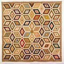 Stunning hexagon quilt
