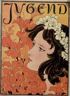 Jugend, 1896.  Munich illustrated weekly journal of art and life, G. Hirth's publishing house in Munich and Leipzig