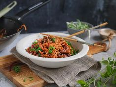 no Wok, Risotto, Ethnic Recipes, Dinner Ideas, Dinners, Drinks, Recipe, Dinner Parties, Drinking