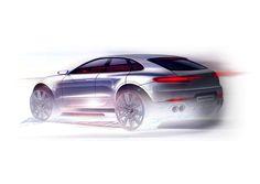 Porsche Macan sketch