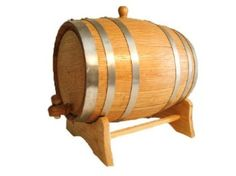 Amazon.com: American Oak Barrel with Steel Hoops- 20 Liter or 5.28 Gallons: Home & Kitchen