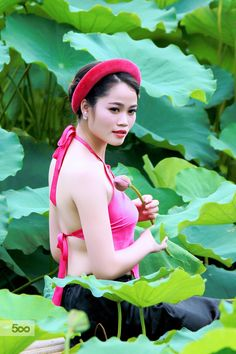 The girl in Lotus Pond by Khoi Tran Duc on 500px