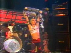 Insane footage of The Plasmatics annihilating the stage on German TV show, 'Musikladen' in 1981 | Dangerous Minds