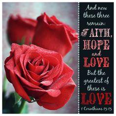 Bible Verse about LOVE 1 Corinthians 13:13