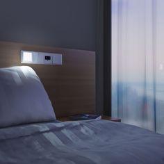 LED-Leselicht am Bett von Jung